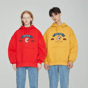 PROD Bldg 2019 Hoodie S / Red PROD Lucky Pig