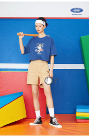 PROD Bldg Boxy T-Shirt Baseball Batter Boxy Short Sleeve T-Shirt