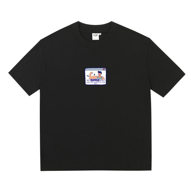PROD Bldg Boxy T-Shirt S / Black Muscel Man Boxy Short Sleeve T-Shirt