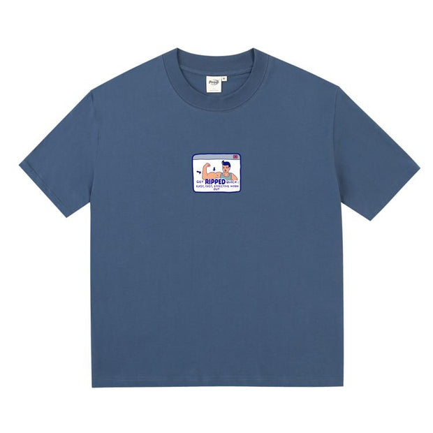 PROD Bldg Boxy T-Shirt S / Blue Muscel Man Boxy Short Sleeve T-Shirt