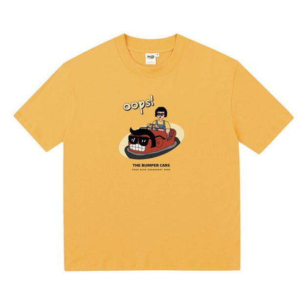 PROD Bldg Boxy T-Shirt S / Yellow Bumper Car Boxy Short Sleeve T-Shirt