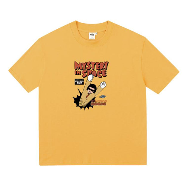 PROD Bldg Boxy T-Shirt S / Yellow Mastery In Space Boxy Short Sleeve T-Shirt