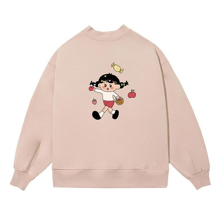 PROD Bldg Crewneck 1 / Cream Sweet Girl Crewneck Sweatshirt
