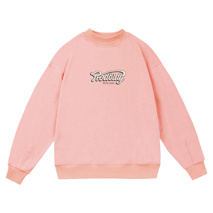 PROD Bldg Crewneck 1 / Pink PROD Good Luck Crewneck Sweatshirt
