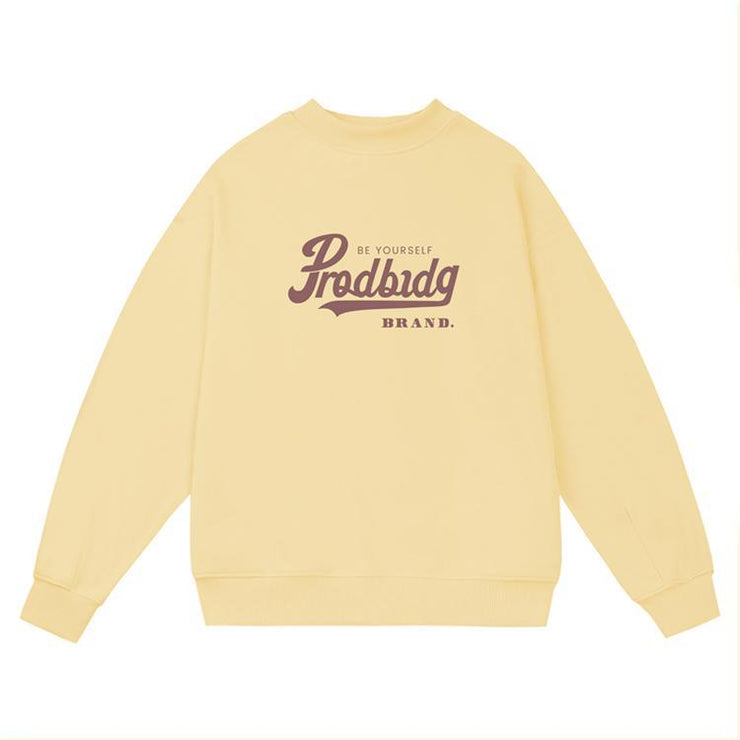 PROD Bldg Crewneck Be Yourself Crewneck Sweatshirt