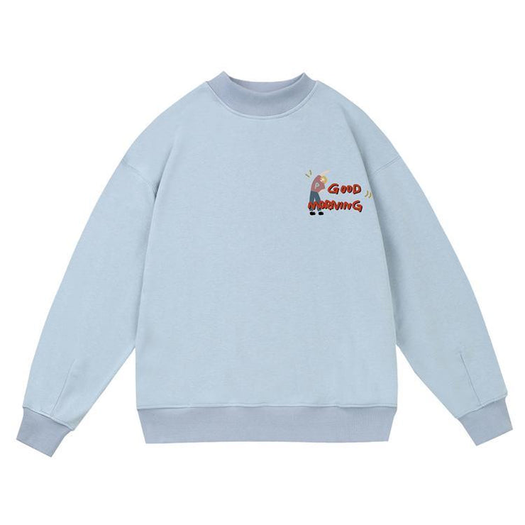 PROD Bldg Crewneck Good Morning Crewneck Sweatshirt