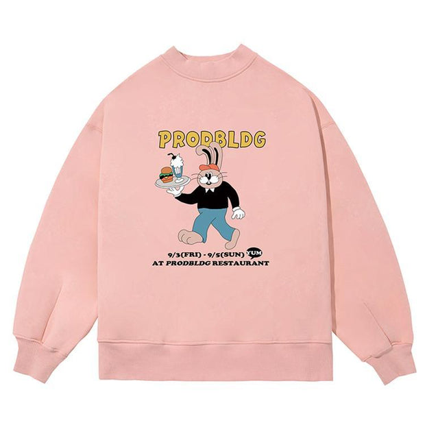PROD Bldg Crewneck Rabbit Chef Crewneck Sweatshirt