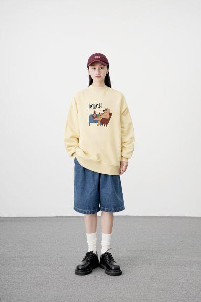 PROD Bldg Crewneck Rich Bear Crewneck Sweatshirt
