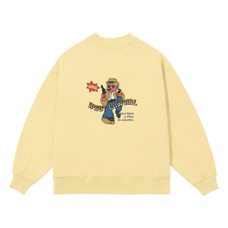 PROD Bldg Crewneck West Cowgirl Crewneck Sweatshirt
