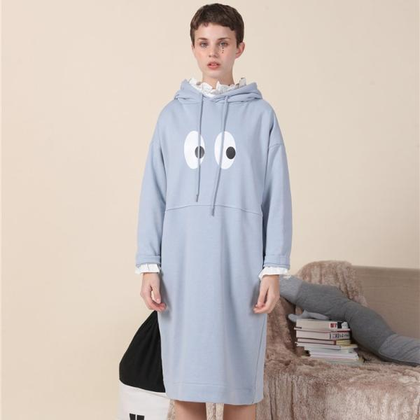 PROD Bldg Hooded Dress One Size / Black I See U