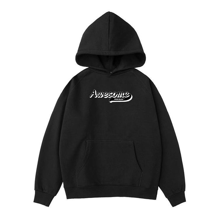 PROD Bldg Hoodie XS / Black Awesome Varsity