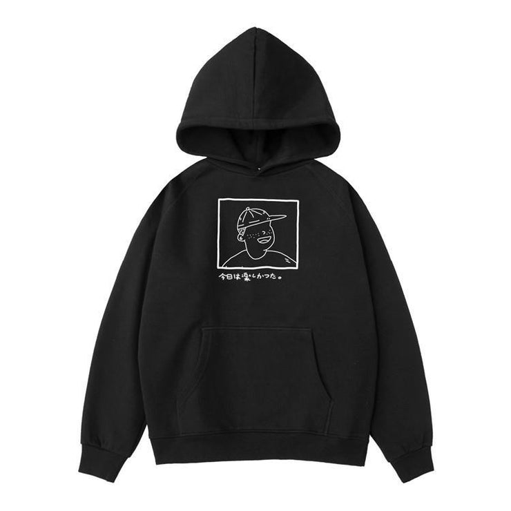 PROD Bldg Hoodie XS / Black Happy Today