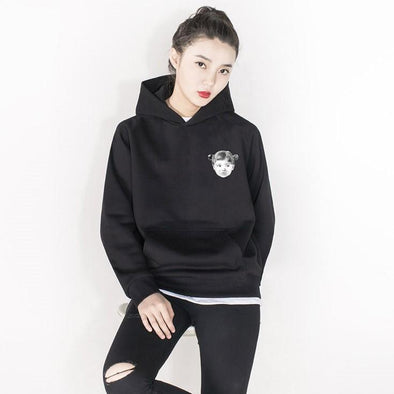 PROD Bldg Hoodie XS / Black Little Girl