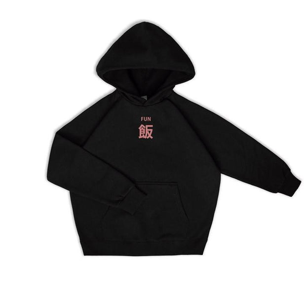 PROD Bldg Hoodie XS / Black Meal (FUN) - Pink