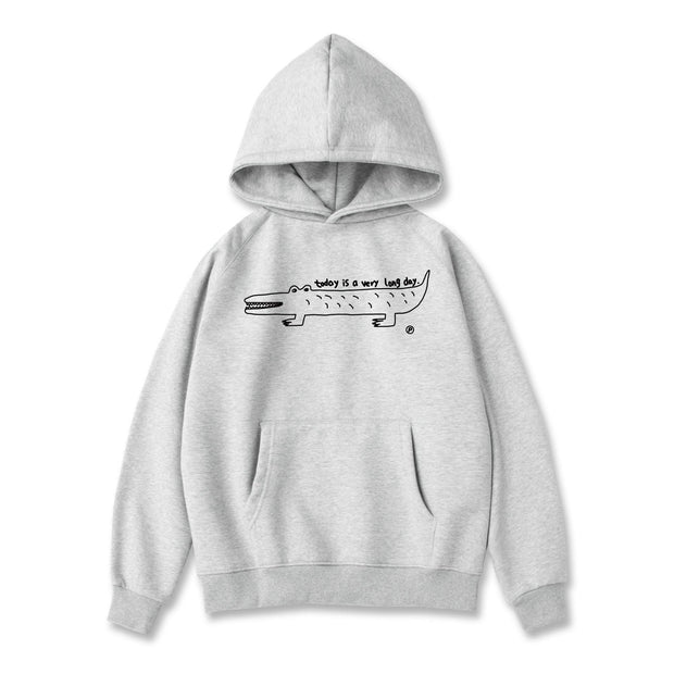 PROD Bldg Hoodie XS / Gray Long Day (Croc)