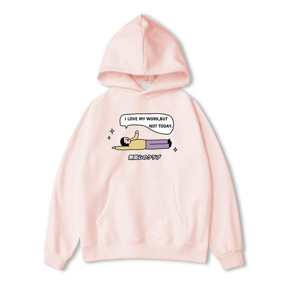 PROD Bldg Hoodie XS / Pink Not Today