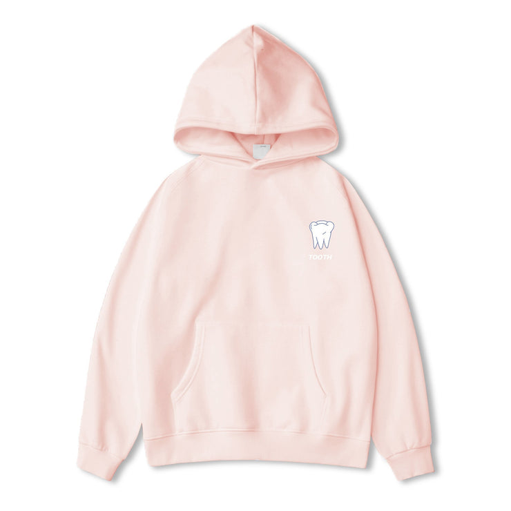 PROD Bldg Hoodie XS / Pink Tooth