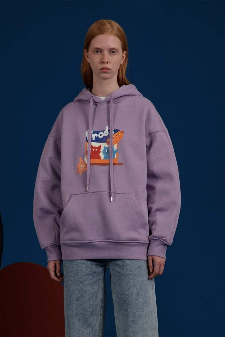 PROD Bldg Last Chance - Final Sale Hotdog Stand Fleece Hoodie