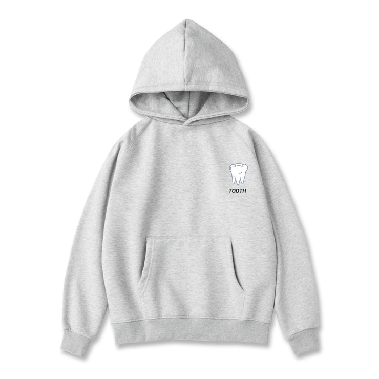 PROD Bldg Last Chance - Final Sale M / Gray Tooth Classic Hoodie