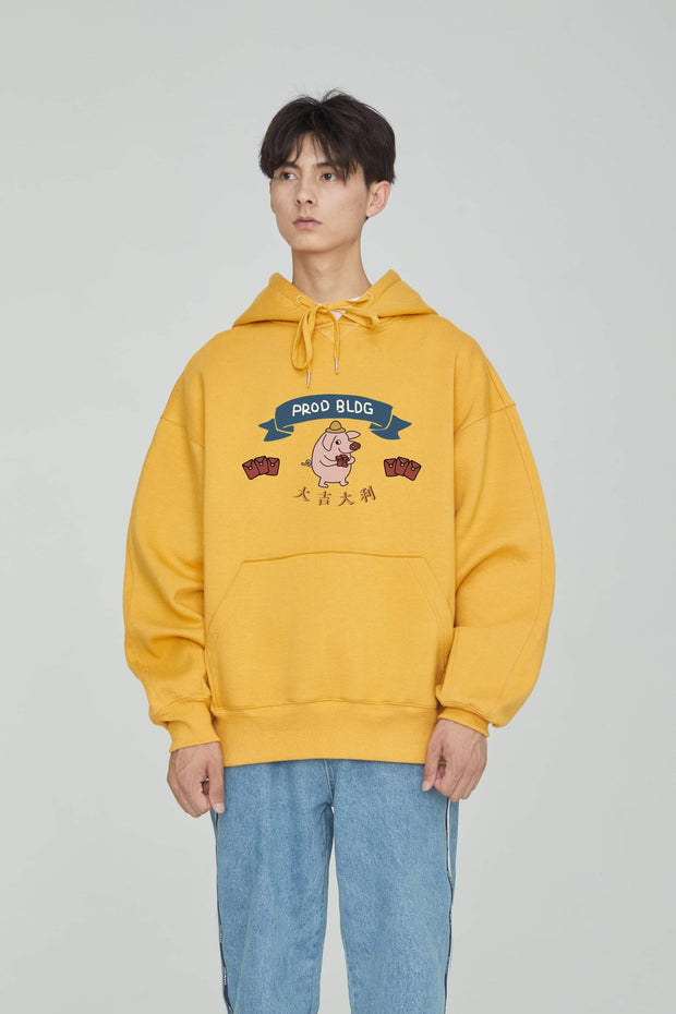 PROD Bldg Last Chance - Final Sale PROD Lucky Pig Fleece Hoodie