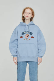 PROD Bldg Last Chance - Final Sale S / Light Blue PROD Lucky Pig Fleece Hoodie