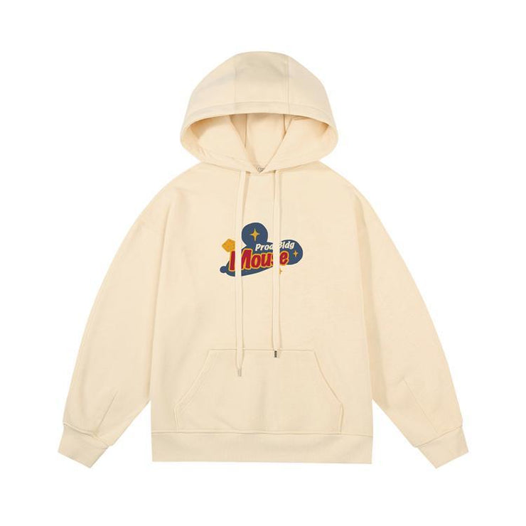 PROD Bldg Last Chance - Final Sale S / Off White PROD Bldg Mouse Fleece Hoodie
