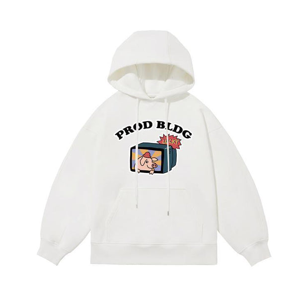 PROD Bldg Last Chance - Final Sale S / White PROD Lucky Fleece Hoodie