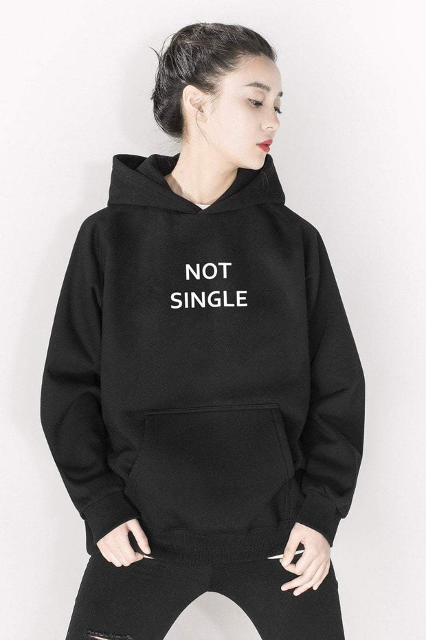 PROD Bldg Last Chance - Final Sale XS / Black Not Single Classic Hoodie