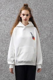 PROD Bldg Last Chance - Final Sale XXL / White Rocket Classic Hoodie