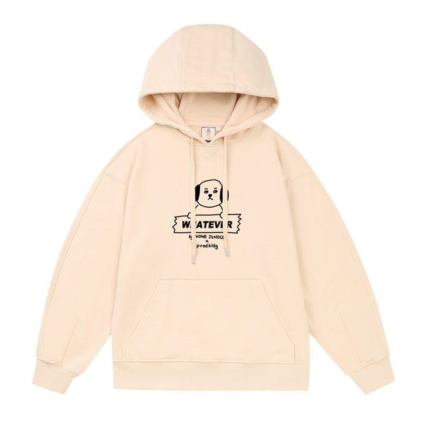PROD Bldg Lightweight Hoodie 1 / Cream Whatever - Dog Lightweight Hoodie
