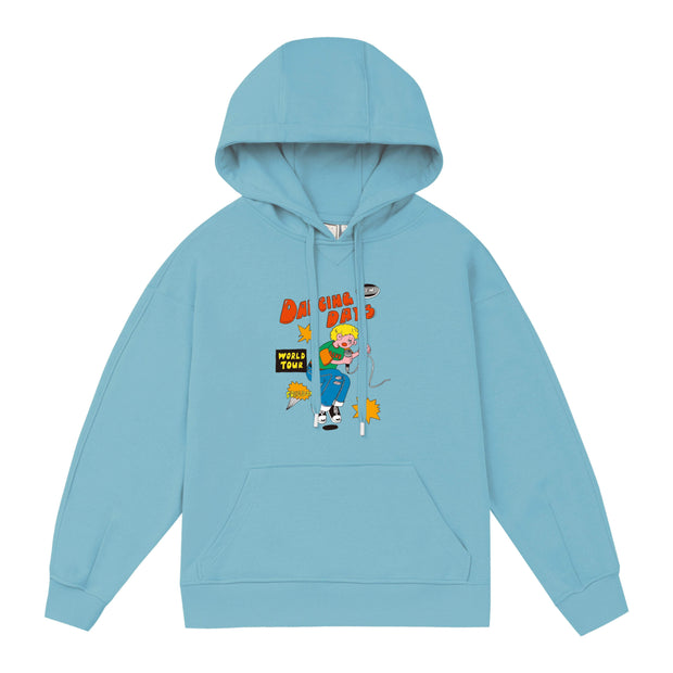 PROD Bldg Lightweight Hoodie 1 / Light Blue Dancing Days Lightweight Hoodie