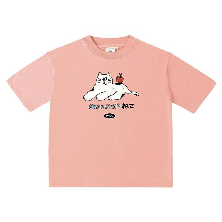 PROD Bldg Oversized T-Shirt Miao Miao Cat Oversized T-Shirt