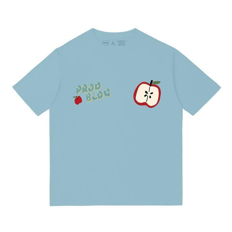 PROD Bldg Oversized T-Shirt S / Light Blue PROD Apple Oversized T-Shirt