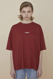 PROD Bldg Oversized T-Shirt S / Red PROD Oversized T-Shirt