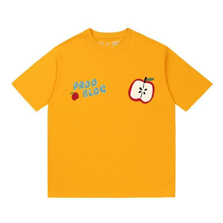 PROD Bldg Oversized T-Shirt S / Yellow PROD Apple Oversized T-Shirt