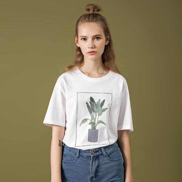 PROD Bldg T Shirt Green Plant
