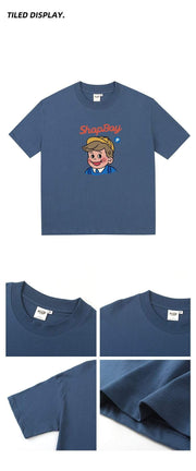 PROD Bldg T Shirt Shopboy Boxy Short Sleeve T-Shirt