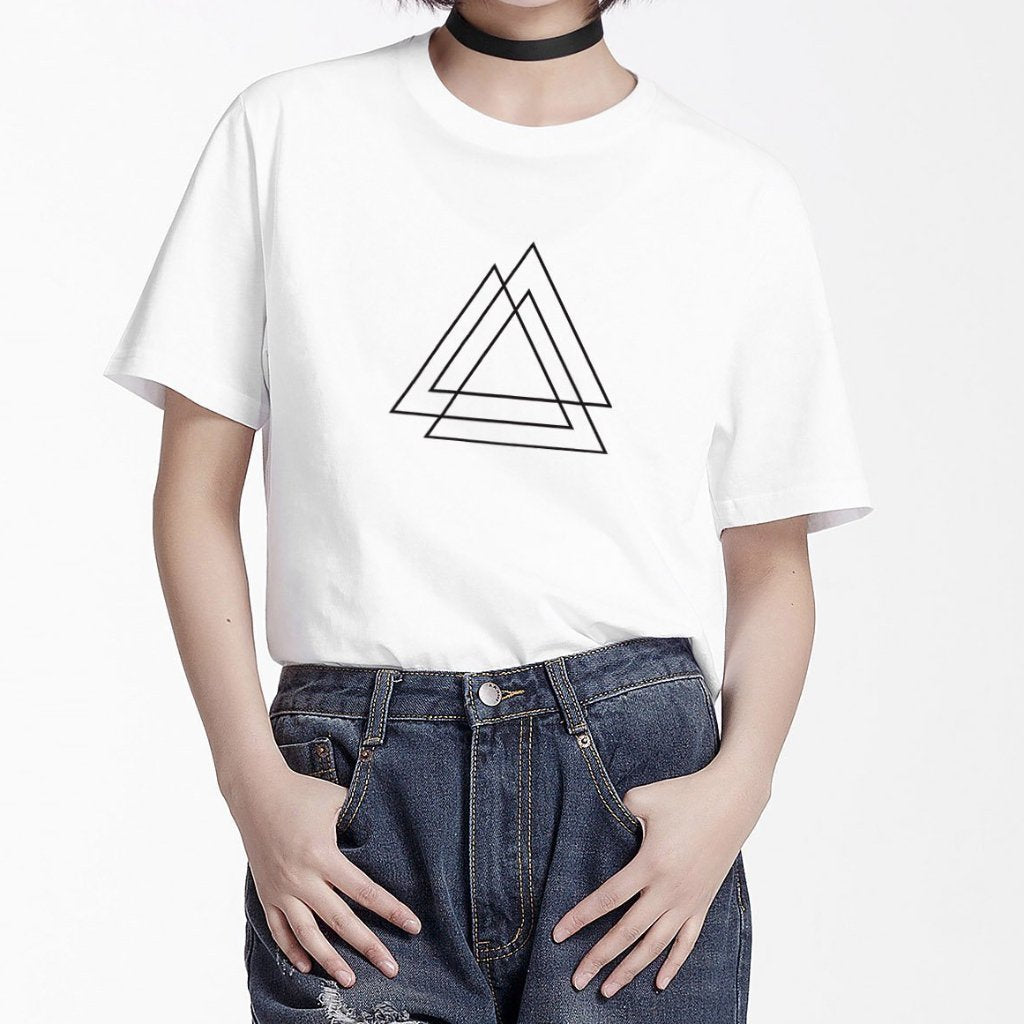PROD Bldg T Shirt White / XS Tri Triangle
