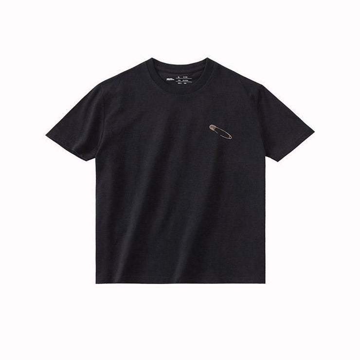 PROD Bldg T Shirt XS / Black Safety Pin