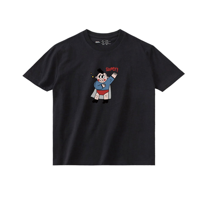 PROD Bldg T Shirt XS / Black Superman 3