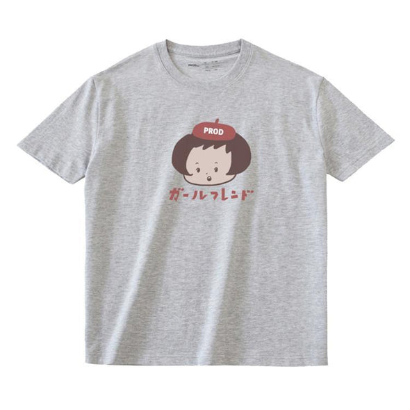 PROD Bldg T Shirt XS / Gray Beret Girl