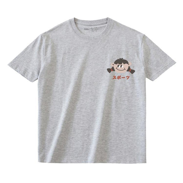 PROD Bldg T Shirt XS / Gray Big Eyed Girl