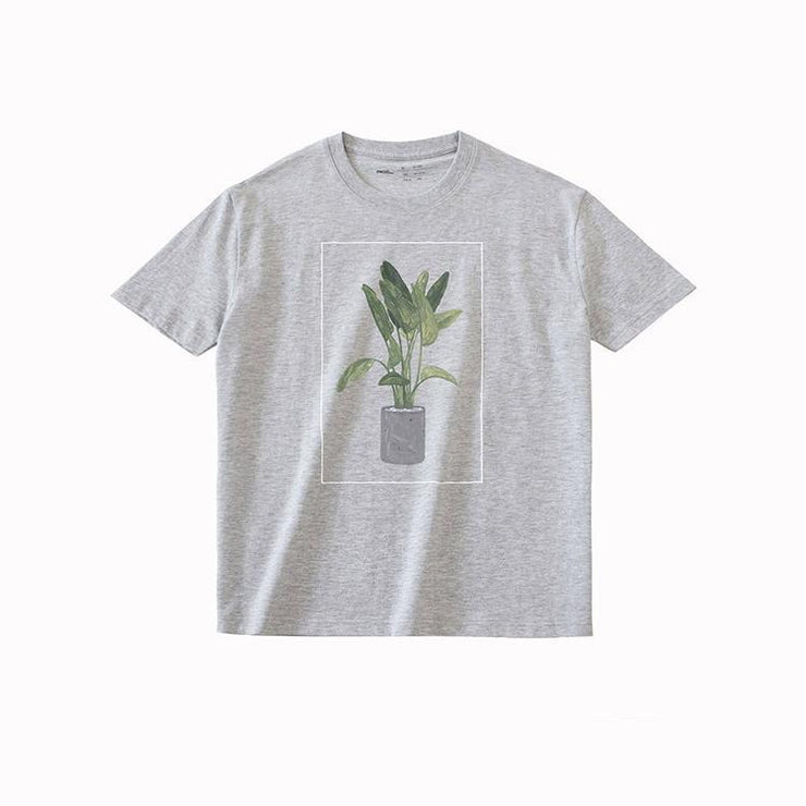 PROD Bldg T Shirt XS / Gray Green Plant