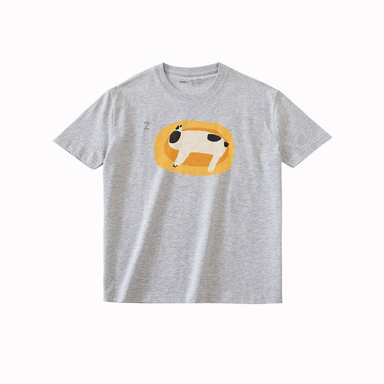 PROD Bldg T Shirt XS / Gray Lazy Dog