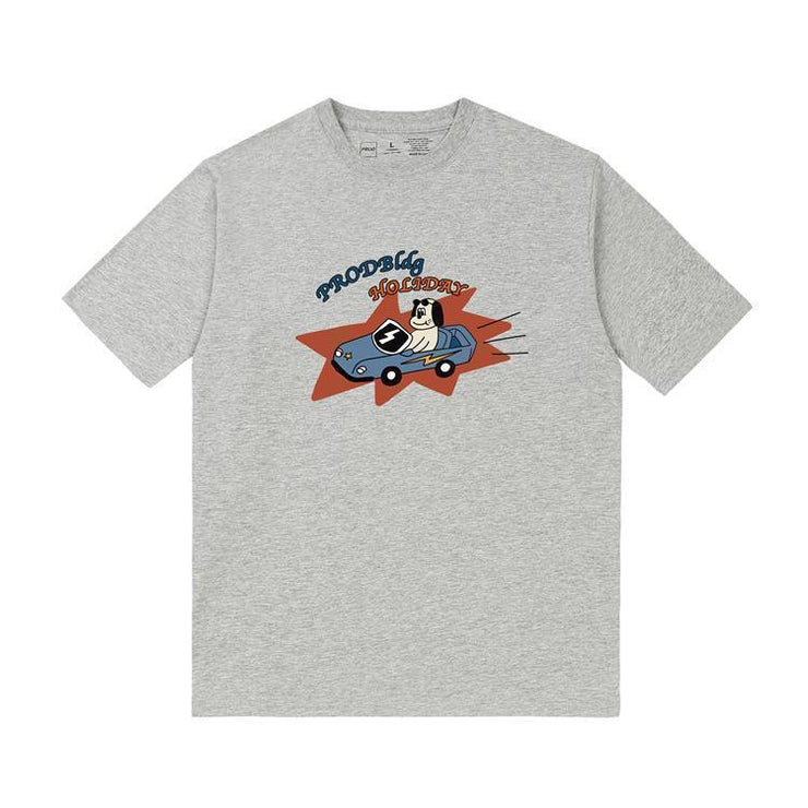 PROD Bldg T Shirt XS / Gray PROD Holiday Short Sleeve T-Shirt