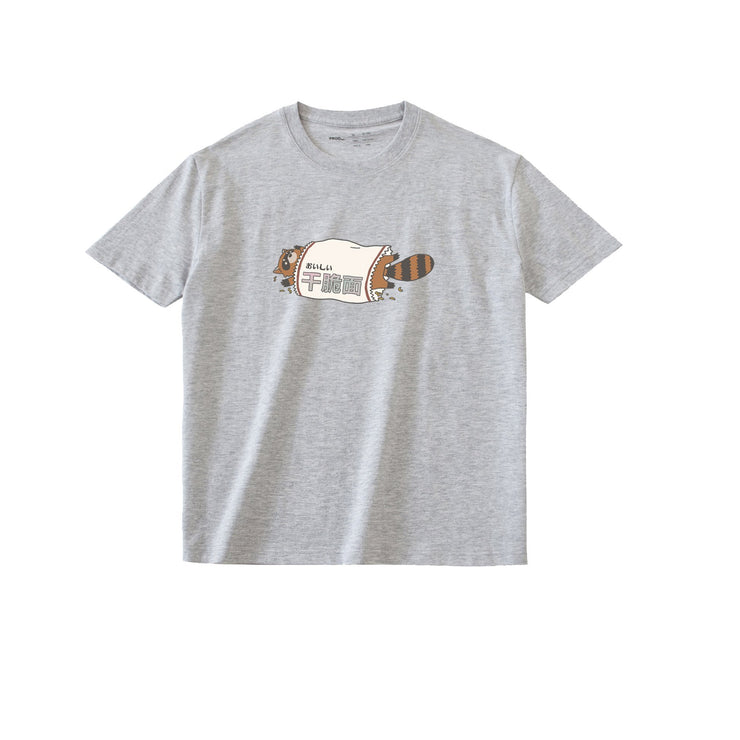 PROD Bldg T Shirt XS / Gray Raccoon Noodle
