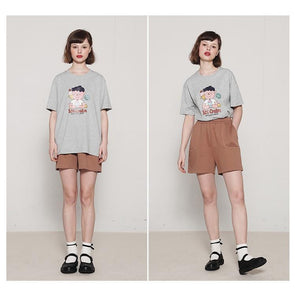 PROD Bldg T Shirt XS / Gray Yummy Ice Cream Short Sleeve T-Shirt