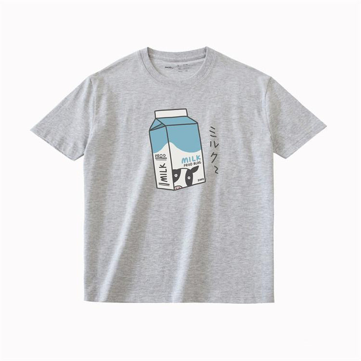 PROD Bldg T Shirt XS / Grey Milk Box