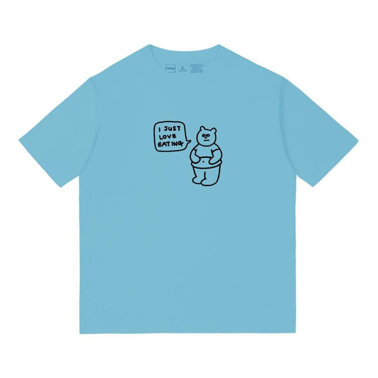 PROD Bldg T Shirt XS / Light Blue Love Eating Short Sleeve T-Shirt