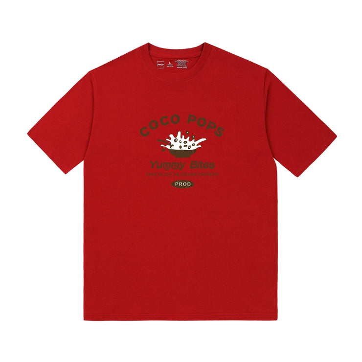 PROD Bldg T Shirt XS / Red Coco Pops
